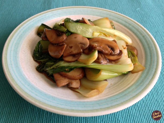 Asian sauteed vegetables