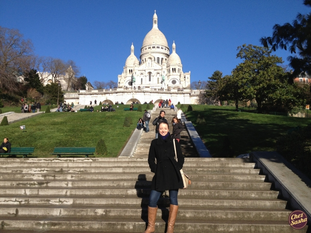 Me in front of Sacre-Coeur