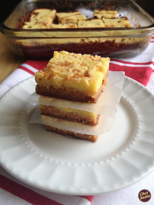 Brown Betty Lemon bars